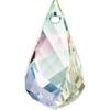 Swarovski Drop 6020 Helix 18mm Aurora Borealis Crystal
